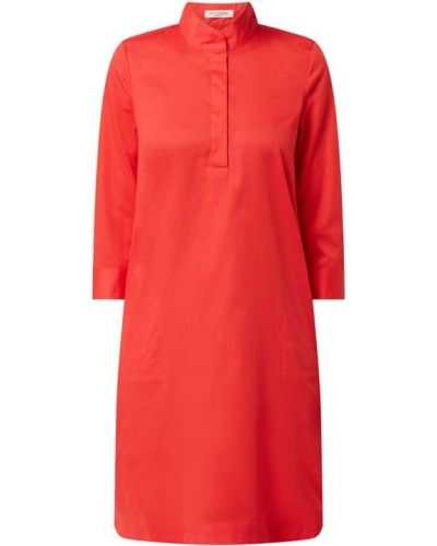 Sukienka mini rozkloszowana bawełniana Christian Berg Women