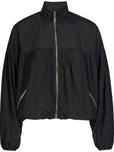 Нейлоновая черная куртка на молнии Silvian Heach