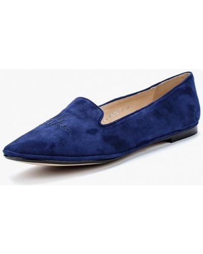 Синие лоферы Just Couture