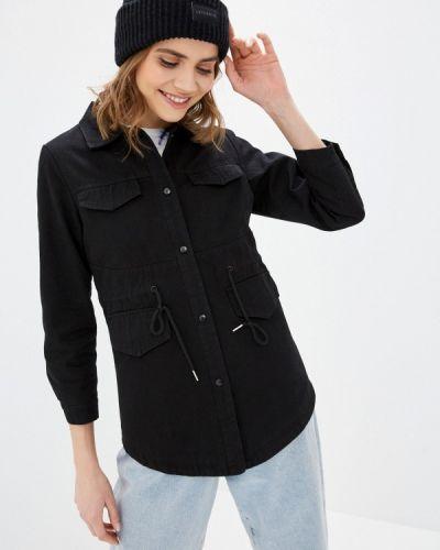 Черная джинсовая куртка Moki