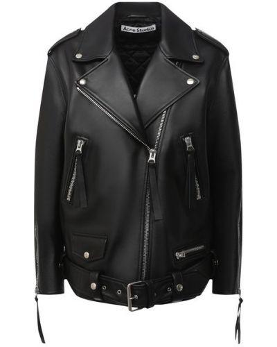 Кожаная куртка с подкладкой Acne Studios