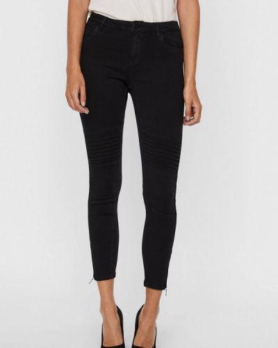 Черные джинсы-скинни узкого кроя Noisy May