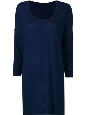 Вязаный свитер - синий Sottomettimi