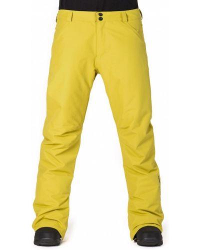 Горнолыжные брюки зеленый желтый Horsefeathers®