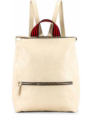 Beżowy plecak bawełniany Clare V.