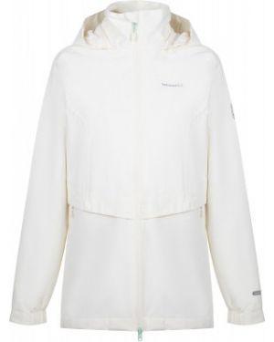 Зауженная белая куртка с капюшоном на молнии с карманами Merrell