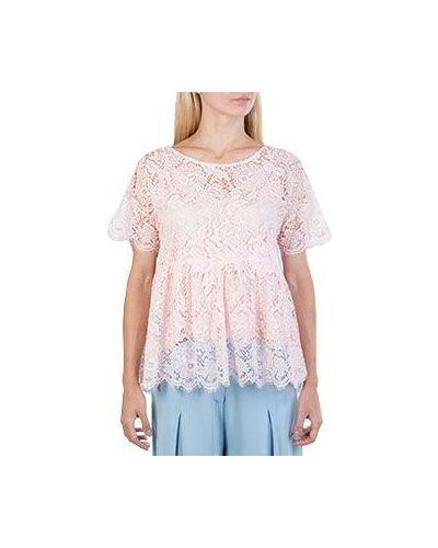 Блузка кружевная розовая P.a.r.o.s.h.
