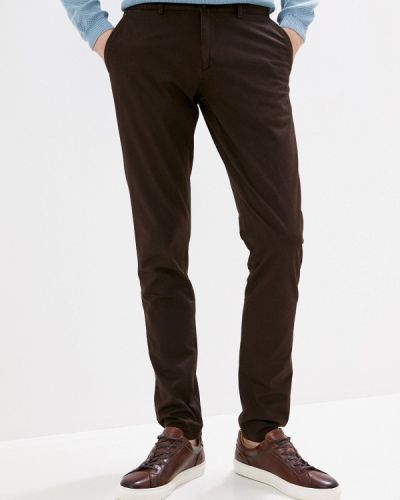 Коричневые брюки Bawer