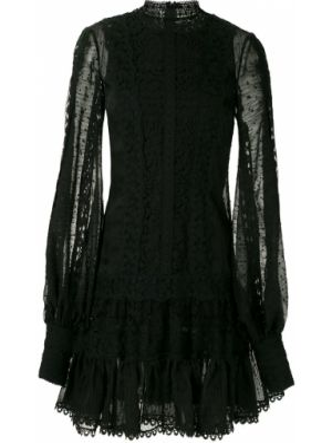 Хлопковое черное платье Martha Medeiros