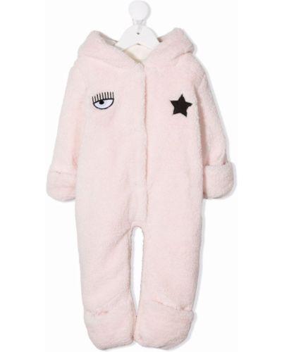 Piżama z długimi rękawami - różowa Chiara Ferragni Kids