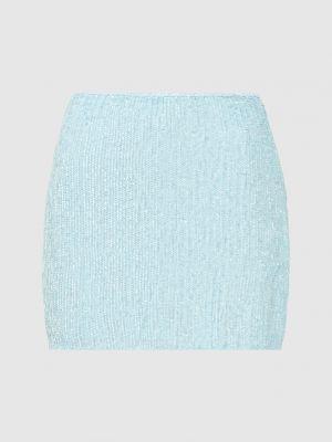 Юбка мини - голубая Retrofete