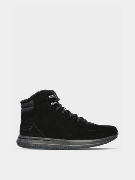 Повседневные ботинки - черные Skechers