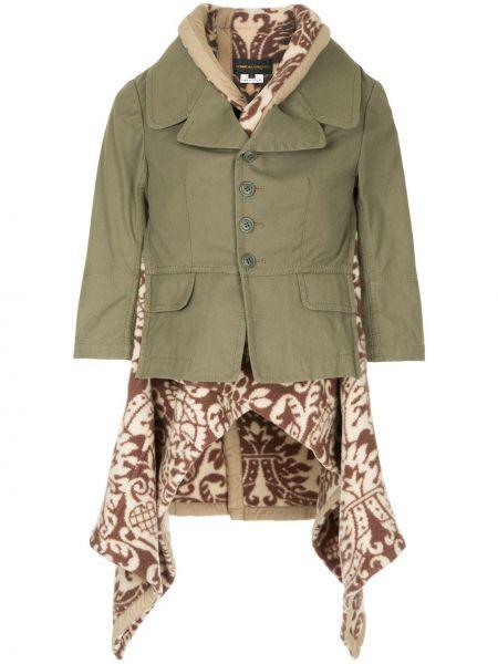 Шерстяной пиджак - зеленый Comme Des Garçons Pre-owned