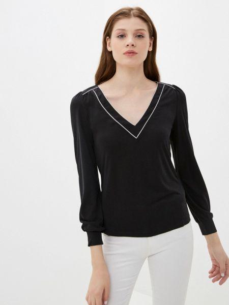 Блузка с длинным рукавом черная весенний Morgan