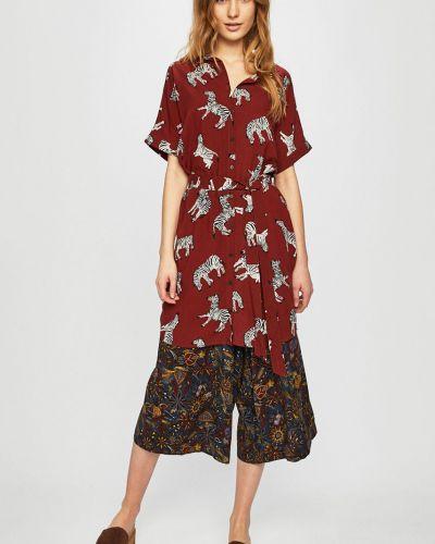 Платье мини из вискозы с рукавами Medicine