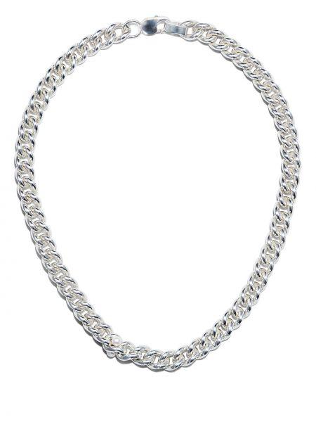 Серебряная цепочка с жемчугом Cc Steding