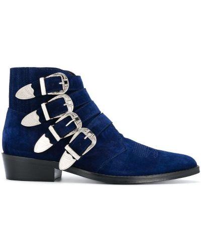 Ботильоны для обуви замшевый Toga Virilis