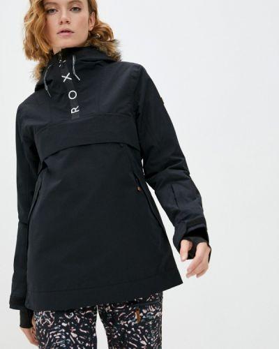Черная куртка горнолыжная сноубордическая Roxy