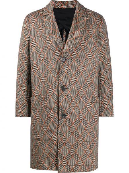 Длинное пальто - бежевое Pringle Of Scotland