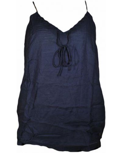 Bawełna niebieski bawełna top Lee