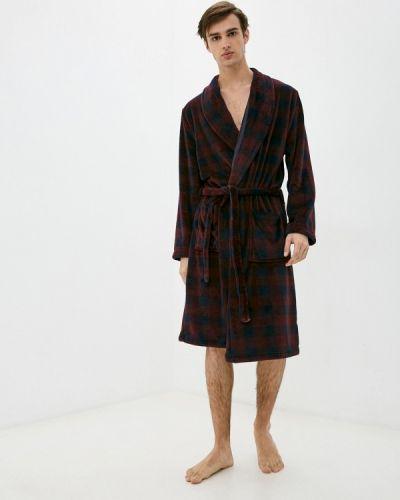 Красный домашний халат Marks & Spencer