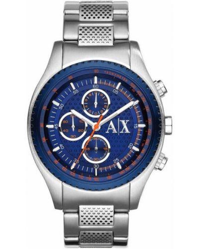 Szary zegarek elegancki Armani Exchange