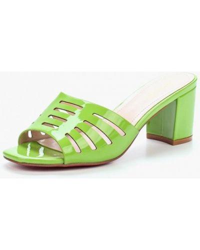 Зеленые сабо Saivvila