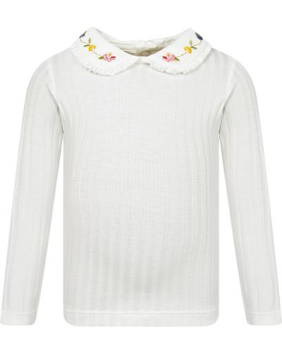 Хлопковая блузка Mayoral
