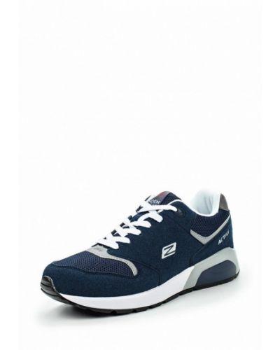 Синие кроссовки замшевые Zenden Active