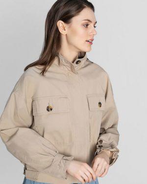 Куртка милитари на молнии Ostin