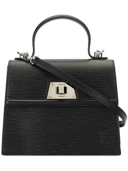 Сумка на плечо с ручками черная Louis Vuitton