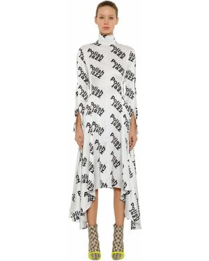 Sukienka midi z długim rękawem dla wysokich kobiet Misbhv