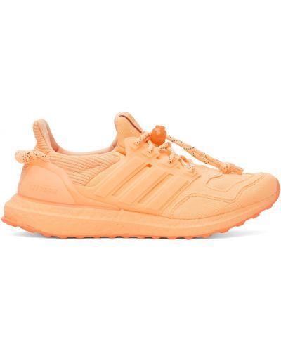 Оранжевые кожаные кроссовки Adidas X Ivy Park