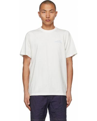 Biały t-shirt krótki rękaw bawełniany Ader Error