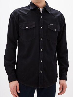 Джинсовая рубашка черная Velocity
