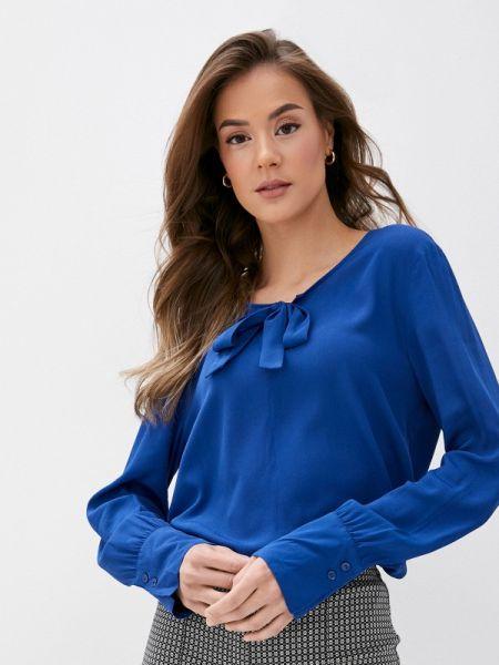 Блузка с бантом синяя Gerry Weber