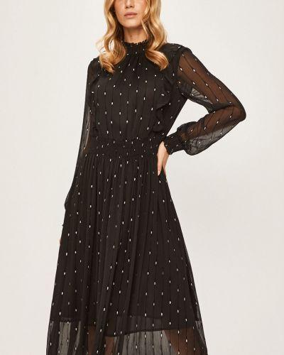 Платье миди с декольте на пуговицах Silvian Heach