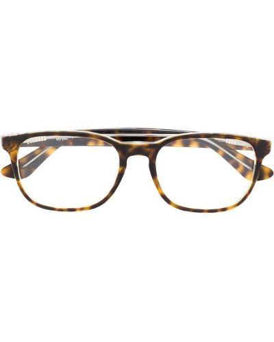 Коричневые очки для зрения квадратные для полных Ray-ban Junior