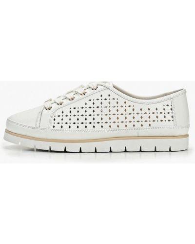 Кожаные ботинки белые кожаные Antonio Biaggi