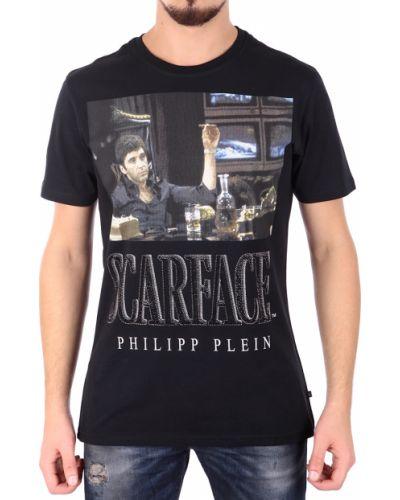 Черная футболка Philipp Plein