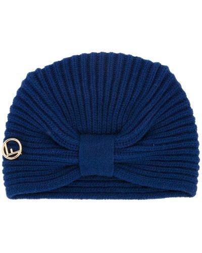 Вязаная шапка с бантом Fendi