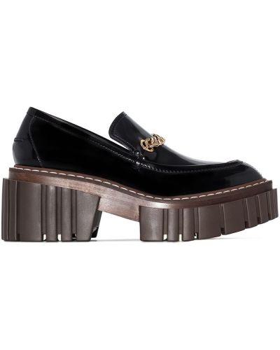 Czarny loafers Stella Mccartney