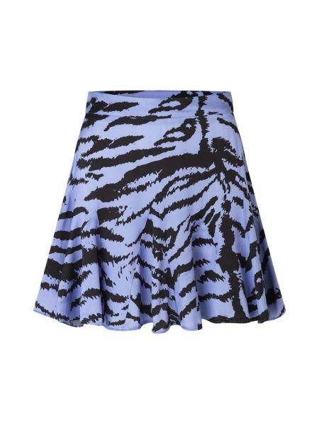 Czarna spódnica z printem Ravn