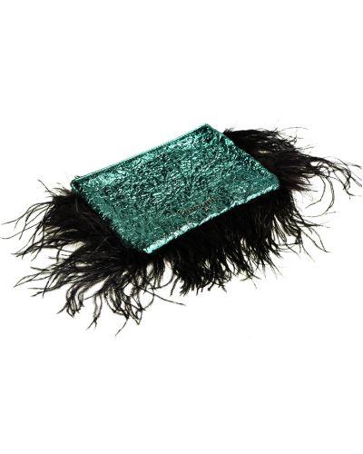 Zielona kopertówka elegancka Patrizia Pepe