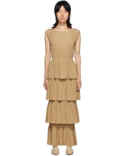 Плиссированное платье TotÊme