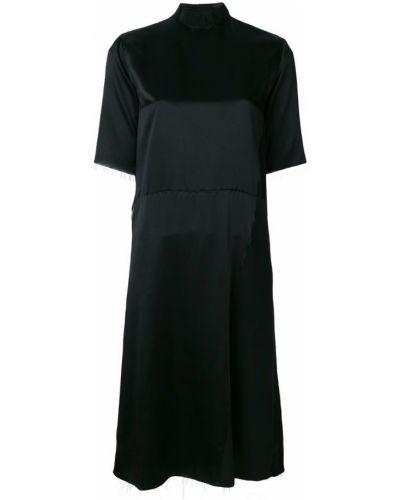 Платье шелковое прямое Aries