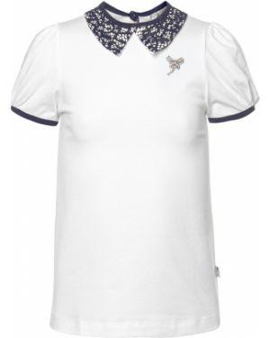 Повседневная с рукавами хлопковая блузка Nota Bene