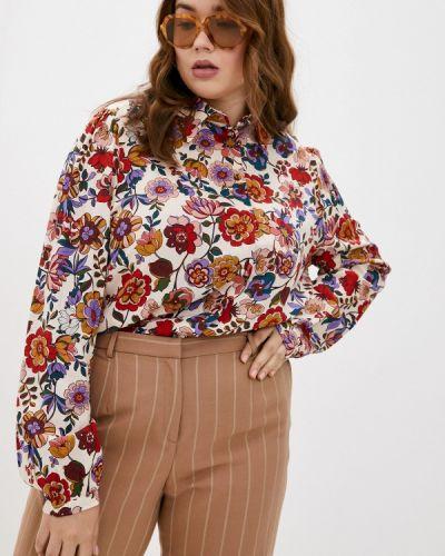 Розовая блузка осенняя Elena Miro
