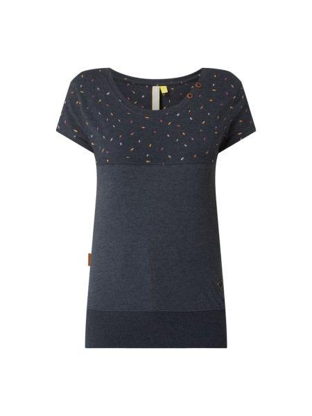 T-shirt bawełniana - niebieska Alife And Kickin