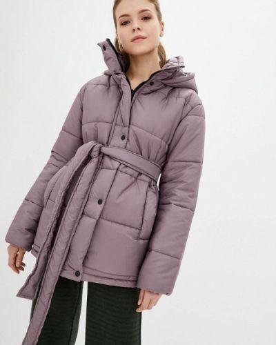 Фиолетовая теплая куртка Lilove